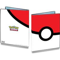 Ultra Pro Pokemon Poke Ball 9 Pocket Portfolio