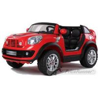 Mini Cooper Beachcomber 12V 2 pers rød