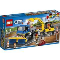 Lego City Sweeper & Excavator 60152