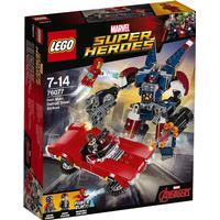 Lego Marvel Superheroes Iron Man Detroit Steels Angreb 76077