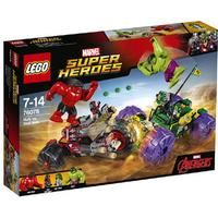 Lego Marvel Superheroes Hulk vs Red Hulk 76078
