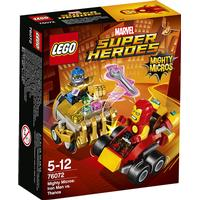 Lego Marvel Super Heroes Mighty Micros Iron Man mod Thanos 76072