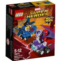 Lego Marvel Super Heroes Mighty Micros Wolverine mod Magneto 76073
