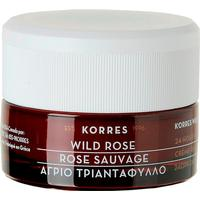 Korres Wild Rose 24Hr Moisturizer & Brightening Cream for Normal/Dry Skin SPF6 40ml
