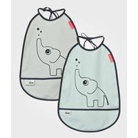 Done By Deer Elphee Bib 2-pack
