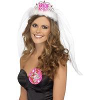 Tiara Bride To Be med Slöja