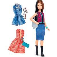 Mattel Barbie Fashionistas 41 Pretty in Paisley Doll & Fashions Petite