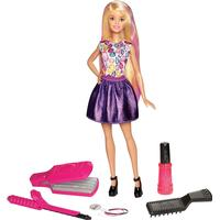 Mattel Barbie D.I.Y. Crimps & Curls Doll