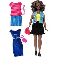 Mattel Barbie Fashionistas 39 Emoji Fun & Fashions Curvy Doll