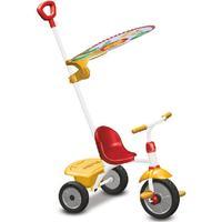 SMARTRIKE Fisher-Price® Trehjuling Glee Plus, röd/gul