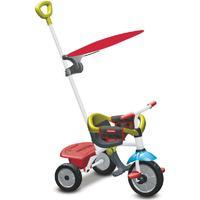 SMARTRIKE Fisher-Price® Trehjuling Jolly Plus, röd