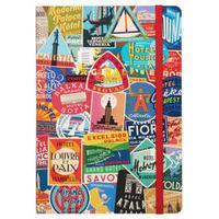 Troy Litten Vintage Travel Labels Gilded Planner