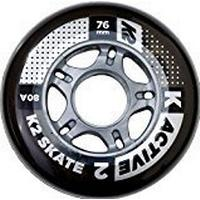 K2 Skate Active 76mm 80A 4-pack