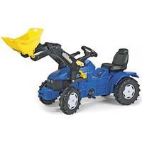 Rolly Toys Farmtrac New Holland TD 5050 med Frontlæsser