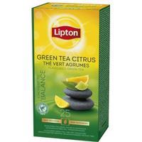 Lipton Te Liptons Green citrus 25/fp