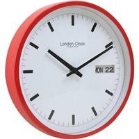 London Clock Company Day & Date 25cm Wall Clock Vægur