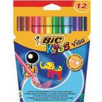 Bic Kids Visa Felt-Tip Color Pen 12-pack