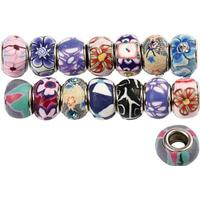 Clay Charm Beads - 11-14 mm - 30 st