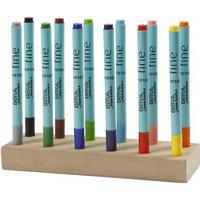 Berol Colour Fine Fibre Felt Tip Pens 0.6mm