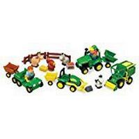John Deere 1st Farming Fun Fun on the Farm Preschool Playset Toy