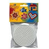 Hama Beads - Square, Hexagonal & Round Pegboard Small (Midi Beads)
