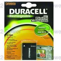 Duracell Digitalkamera Batteri Panasonic 3.7v 1050mAh (DMW-BCJ13)