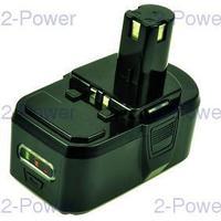 2-Power Verktygsbatteri Ryobi 18V 3000mAh (P104)
