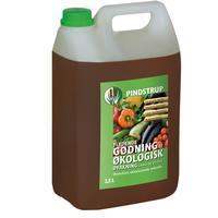 Pindstrup Flydende Gødning til Økologisk Dyrkning 2.5L