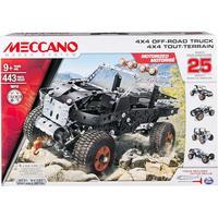 Meccano 4x4 off Road Truck 25 Models Set
