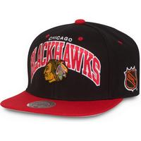 Mitchell & Ness Chicago Blackhawks Team Arch Snapback