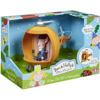 Character Ben & Holly Wise Old Elf's Helicopter