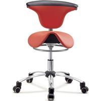 ErgoMax ST016 sadelstol med roterbart ryggstöd
