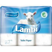 Lambi Toalettpapper 6-pack