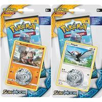 Pokémon sun and moon 2 x 1 packs blister