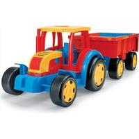 Wader Giant Tractor with Trailer
