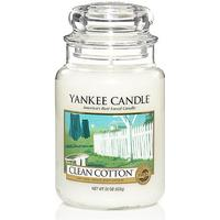 Yankee Candle Clean Cotton 623g Doftljus