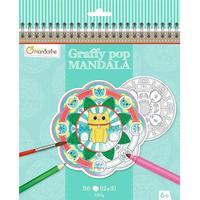 Avenue Mandarine Graffy mandala - Dyr