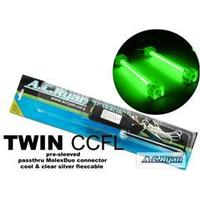 AC Ryan TWIN CCFL - 2x10cm - Grøn