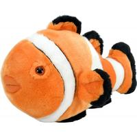 "Wild Republic Clownfish Stuffed Animal 12"""