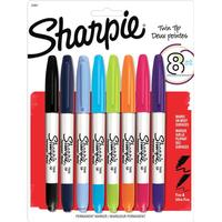 Sharpie Twin Tip Markers 8-pack