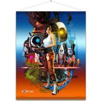 Portal 2 - Chell Wallscroll