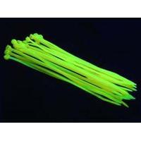 BitsPower UV-Reactive Yellow Cable Tie