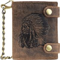 Greenburry Vintage Leather Wallet - Antique Brown (1796A-RI-25)
