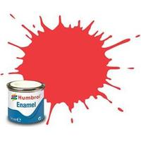 Humbrol enamel gloss bright red 14 ml