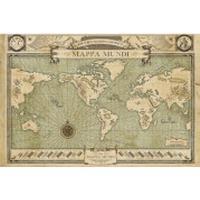 GB Eye Fantastic Beasts Map Maxi 61x91.5cm Affisch