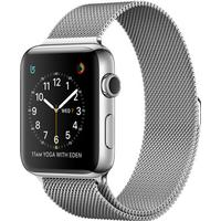 Apple Watch Series 2 42mm Stainless Steel Case with Milanese Loop