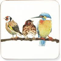 Laura Ashley Garden Birds Glasbrik 4 stk