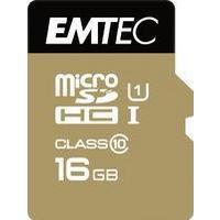 Emtec Gold+ MicroSDHC Class 10 16GB