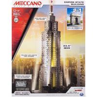 Meccano Empire State Building 2 in 1 Model Set