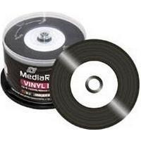 MediaRange CD-R 700MB 52x Spindle 50-Pack Inkjet